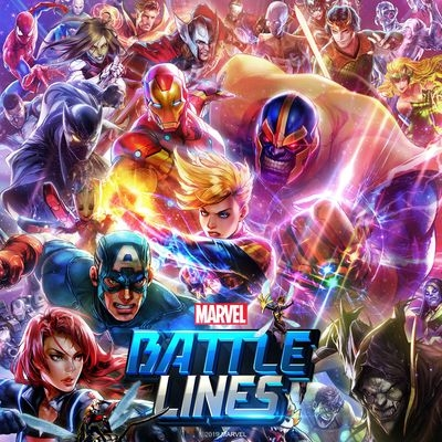 Музыка из игры Marvel Battle Lines / OST Marvel Battle Lines (2019)
