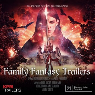 Музыка для трейлера Family Fantasy Trailers / OST Family Fantasy Trailers (2019)